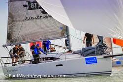 J/97E cruiser racer sailboat- sailing Hamble Winter Series