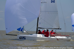 Keane's SAVASANA sailing J/70 NA's in Houston