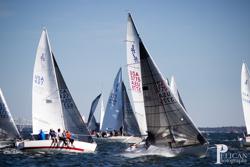 J/24s sailing off Annapolis, MD