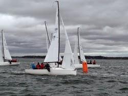 J/70 sailing Chesapeake Bay champs