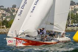 J/105s sailing Masters Regatta