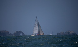 J/105 sailing SoCal offshore race