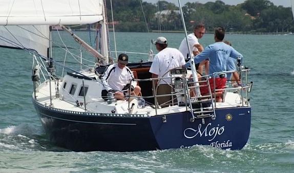 J/34c sailing off Sarasota, FL