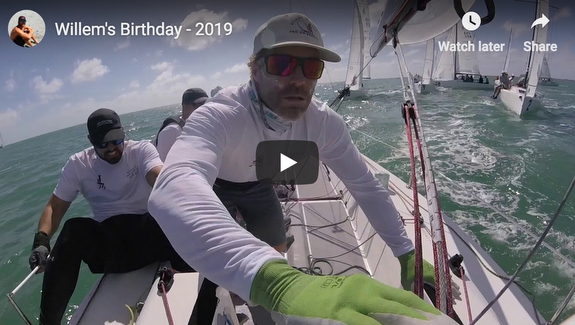 J/70 Relative Obscurity boat handling video
