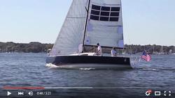 J/88 solar sailer video
