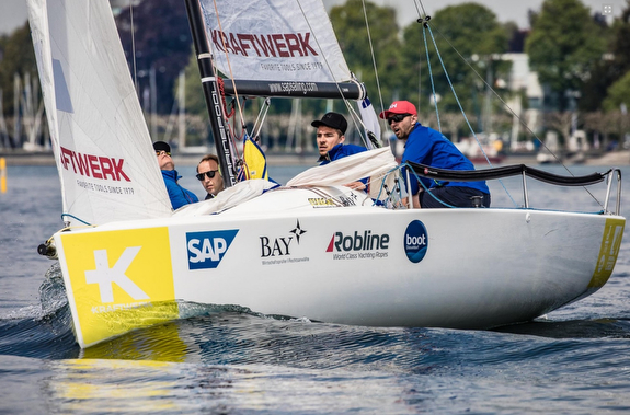 J/70 sailing Deutsche Segel Bundesliga