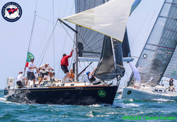 J/44 Maxine sailing New York YC regatta