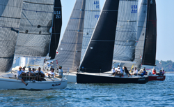 J/109s sailing American YC Fall Series