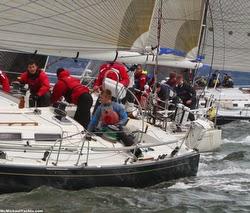 J/44s sailing Storm Trysail Club college bit boat IOR regatta