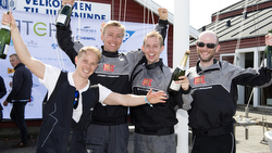 Danish J/70 sailing league winners