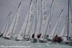 J/70s sailing Florida