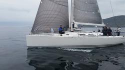 J/122 sailing St Kilda Challenge race