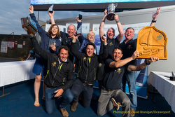 J/122 winners of Round Ireland Race
