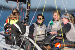 Dutch J/70 women's sailing team