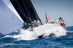 J/11S sailing Antigua Sailing Week