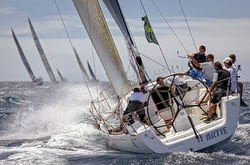J/122 Artie sailing Rolex Middle Sea Race