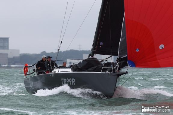 J/99 sailing Cowes Week