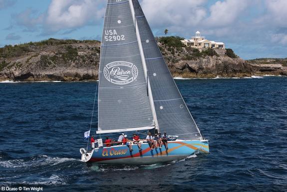 J/122 El Ocaso sailing Caribbean