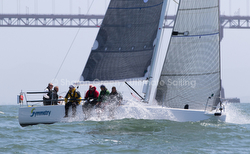 J/88 sailing Spinnaker Cup race