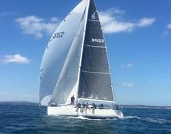 J/130 sailing off Australia