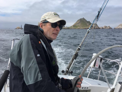 J/120 sailing Double Farallones race