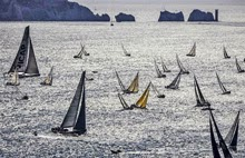 Fastnet Race start- Needles