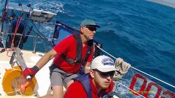 J/36 sailing on Solent