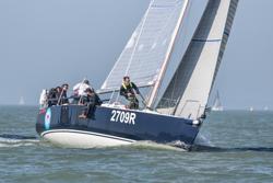 J/109 sailing Solent