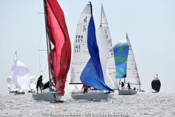 J/70 and J/80 round mark at  GP Crouesty