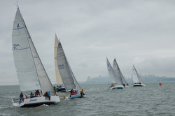 J-teams sailing Spinnaker Cup
