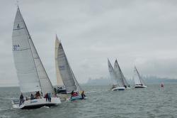 J-teams sailing Spinnaker Cup