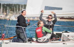 J/24 women sailors- at Magenta Project
