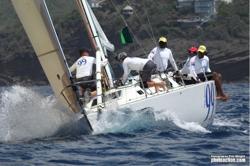 J/39 99 sailing Antigua