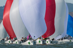 J/70s at Rolex Big Boat Series