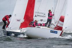 J/22 sailing Van Uden Reco off Netherlands