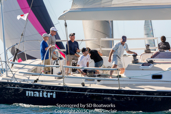 J/65 Maitri- sailing San Diego Hot Rum series