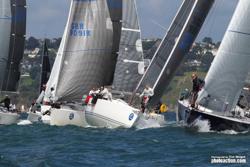 J/109s sailing J/Cup UK