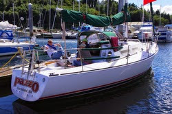 J/35 looking gorgeous at J/Rendezvous Seattle