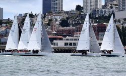 J/105 sailing San Francisco