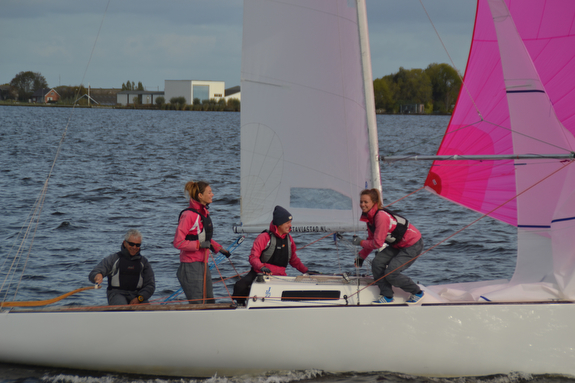J/22 sailing in The Netherlands