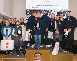 YC Monaco J/70 Winter Sportsboat series podium winners