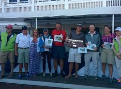 J/70 sailor Heather Gregg-Earl, wins Nantucket IOD Invitational regatta