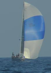 J/120 sailing Conch Republic regatta
