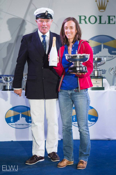 J/122 LORELEI- Fastnet Race Top Women's skipper award