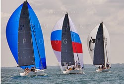 J/88s sailing CanAm regatta in New York