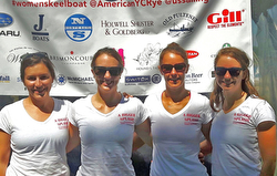 Canadian J/70 women's team- Bertold