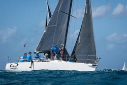 J/105 sailing Heineken St Maarten