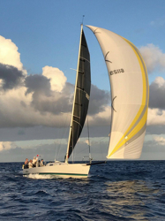 J/125 sailing Transpac Race