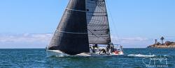 J/125 sailing offshore SoCal