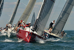 J/109s sailing Block Island Race Week
